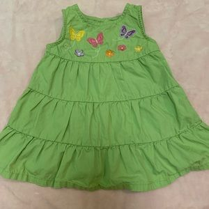 Gymboree Butterfly Dress Size 6-12M